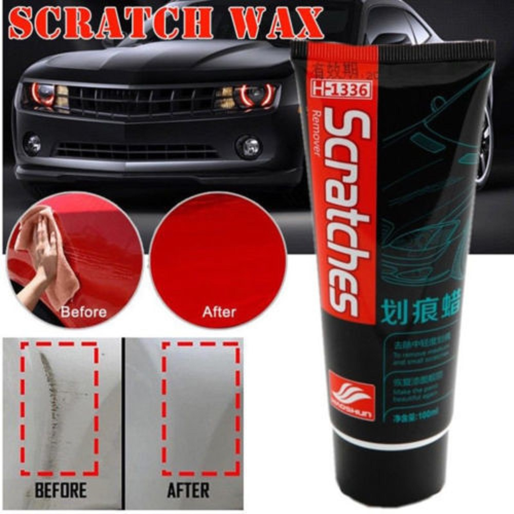 100ml Car Scratch Paint Auto Polishing Repair Tool Scratch Remover Maintenance Care Wax Grinding Compound Wax Restoring Tools