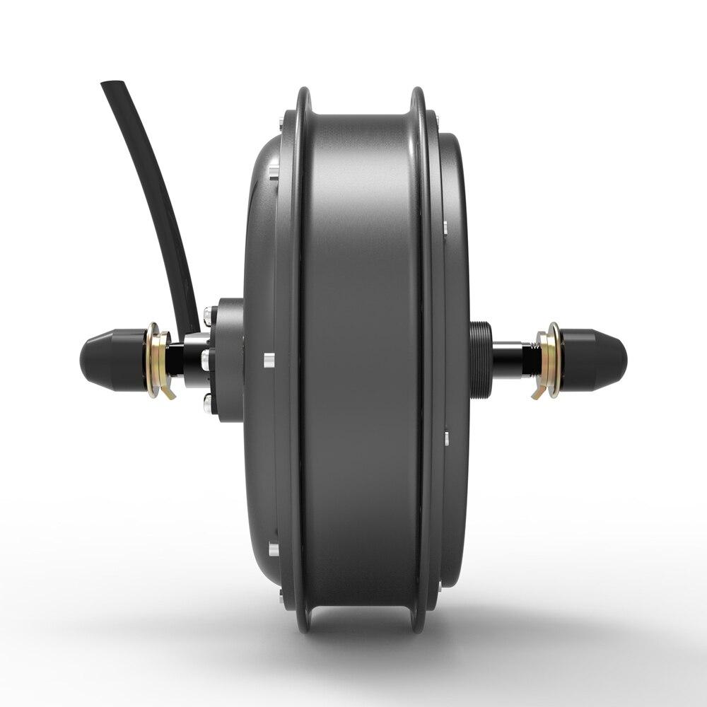 V1 Leistungsstarke 50H magnet 5000W DC bürstenlosen hinten hub motor für elektrische conversion kit, elektrische fahrrad, elektrische fahrrad