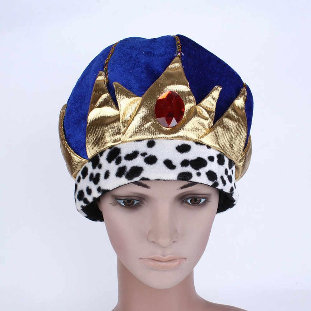 Halloween Pharaoh Prince Hat Adult Kids Cosplay Cap Halloween Costume Accessories Halloween Party Dress Decor Winter Hat