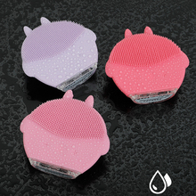 Electric Face Cleansing Brush Skin Care Waterproof Silicone Facial Cleansing Brush Face Washer Blackhead Remover Facial Cleaner mini portable silicone face cleansing brush nose blackhead removal cleaner facial cleansing brush face skin care