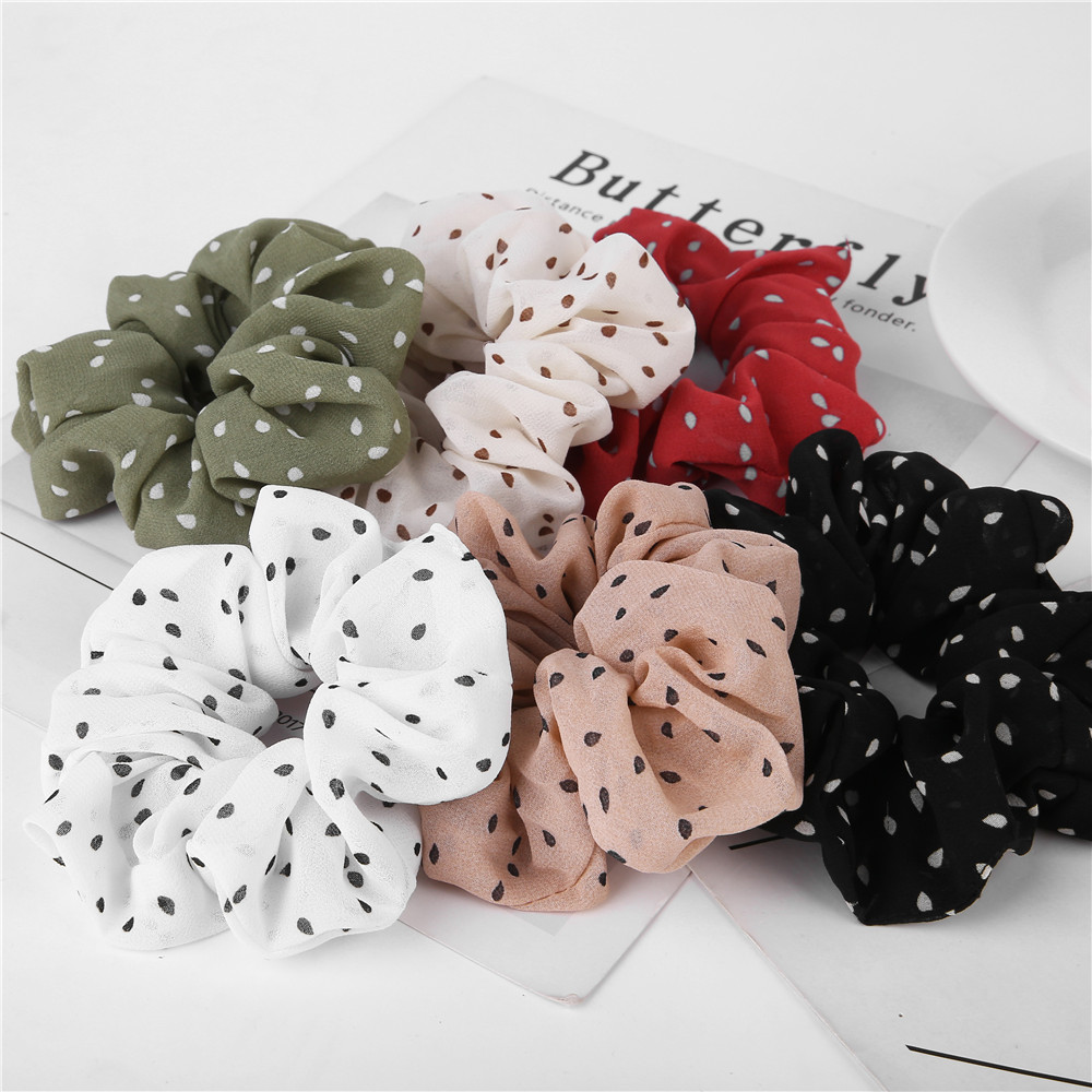 2019 Simplicity Women Hearwear Ladies Hair Tie Striped Lady Scrunchies Ponytail Hair Female Girl Holder Rope Hair Accessories
