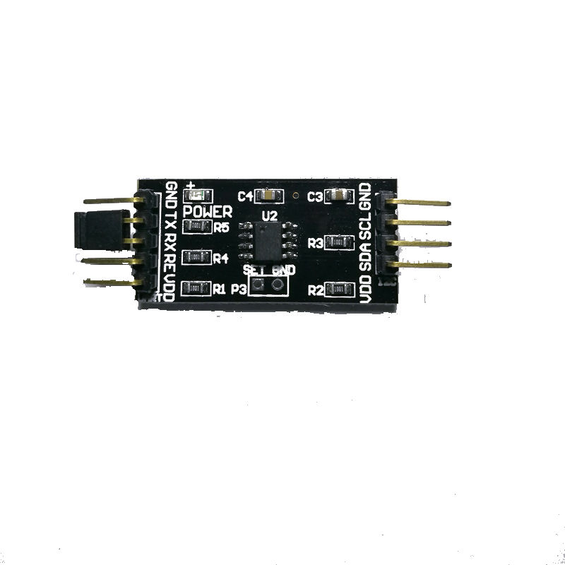 Serial Port To I2C, I2C To UART, RS232 To I2C, I2C To Serial Port, TTL Level Slave Module