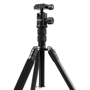 "Image 4 - Selens 150cm/62 ""שחור מקצועי חצובה צילום חדרגל עבור DSLR מצלמה נייד קל משקל נסיעות Tripode Stand"