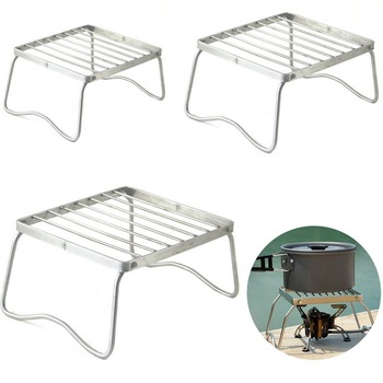 BBQ Grill Portable Stainless Steel Folding Barbecue Grill Mini BBQ Grill Kitchen Accessories For Outdoor Camping Picnic Tool foldable bbq grill outdoor camping picnic cooking grill portable stainless steel charcoal grilling stove barbecue accessory tool