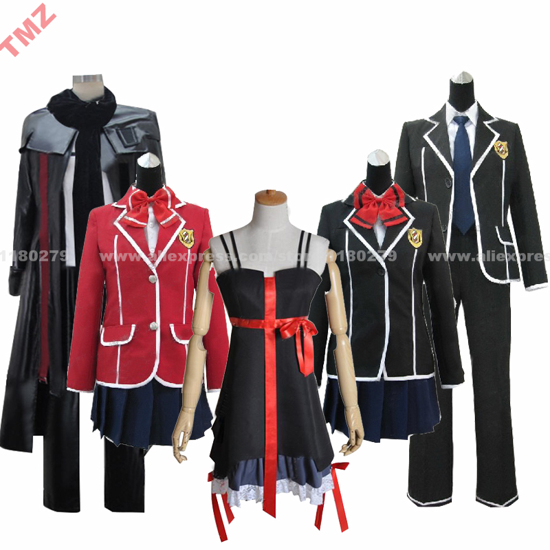 Guilty Crown Yuzuriha Inori formal Red Dress Cosplay Costume full set outfit