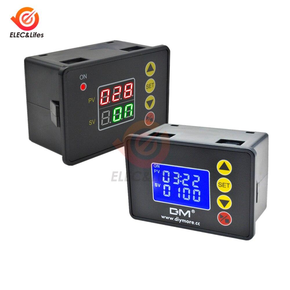 Программируемый цифровой таймер, 1,37 дюйма, 12 В, 24 В, 20 А, 110 В переменного тока, 220 В, 10 А