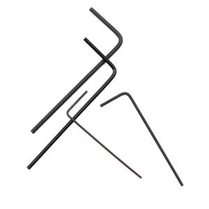 7 шт./компл. мини шестигранный ключ Набор отверток ручной инструмент набор микро шестигранный ключ 0,7 мм-3 мм