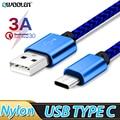 Зарядный кабель USB Type-C 0,25 м, 1 м, 2 м, 3 м для Xiaomi Redmi Note 8, 9, 7 Pro, Max, 8t, K30 Pro, K20, 7a, 8a, USB Type-C