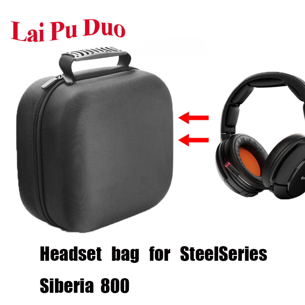 For <font><b>SteelSeries</b></font> <font><b>Siberia</b></font> <font><b>800</b></font> Wearable, dirt-resistant, shock-resistant and anti-fall wireless gaming headset protection bag. image