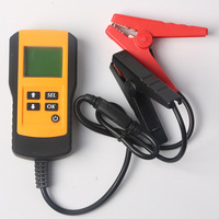 Battery Analyzer LCD Display CCA 12V Car Portable Backlight Accurate Ohm Charging System Tester Voltage Digital Lead Acid