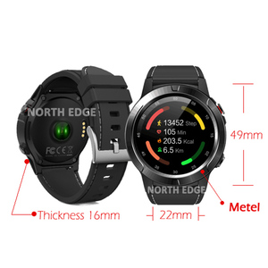 Image 3 - דיגיטלי שעון עמיד למים צפון קצה גברים שעונים ספורט צבאי LED צמיד דיגיטלי שעונים relogio masculino Bluetooth שעונים