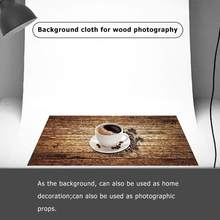 Vintage Retro Holz Fotografie Kulissen Studio Video Foto Hintergrund Kamera Foto Studio Home Dekoration(China)