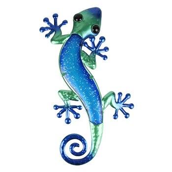 Gecko, arte de pared para decoración de jardín, estatuas de animales para...