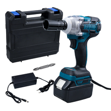 18V 520N.m Electric Wrench Brushless Impact Wrench Rechargeable 1/2'' Socket Cordless