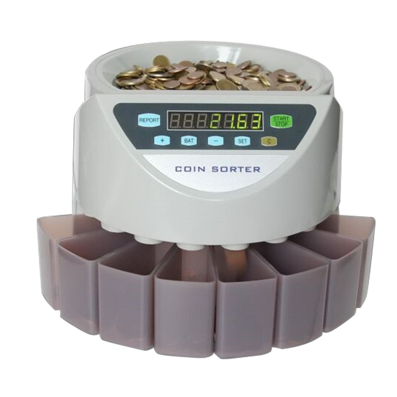 Xd-9002 Coin Sorter Coin Counting Machine Can Customize Coins Of Europe, America, Britain, Southeast Asia And Other Countries