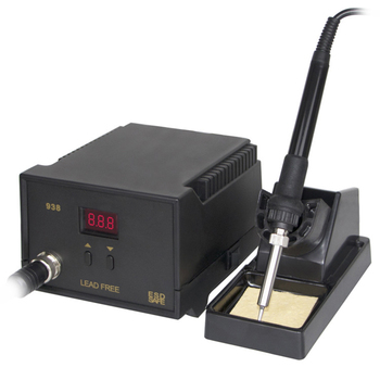 Electric Iron Soldering Station SMD Welders Welding with Stand Sponge ESD Anti-static FAS6