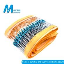 Металлический пленочный резистор 500, 1/4 Вт, 1R ~ 22M, 1%, 100R, 220R, 1K, 1,5 K, 2,2 K, 4,7 K, 10K, 22K, 47K, 100K, 470K, 100, 220, 1K5 2K2, сопротивление 4K7 Ом
