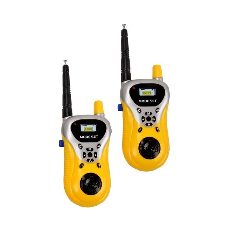 2Pcs/lot Professional Hot Sale Handheld Intercom Electronic Interphone Kids Mini Walkie Talkie Children Portable Two Way Radio