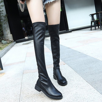 Sexy Slim Fit Over The Knee Boots Women shoes 2019 Autumn Winter ladies Long Thigh High botas