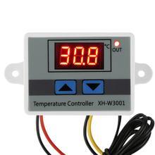 Thermostat Controller  220V 10A Digital LED  Switch Temperature Controller W/Probe Smart Temperature Control System