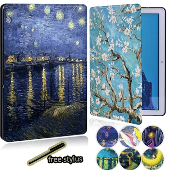 Anti-fall Tablet Case for Huawei MediaPad T3 8.0/T3 10 9.6 Inch/T5 10.1 Inch/M5 10.8 Lite Inch + Free Stylus - discount item  29% OFF Tablet Accessories