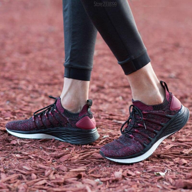 100% Original Xiao mi mi jia chaussures 3 baskets 3th hommes course Sport plein air nouveau Uni-moulage 2.0 confortable et antidérapant Stock - 2