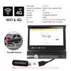 Android 9 1din Выдвижной Автомобильный Радио MP3 плеер 7 HD Универсальный автомобильный стерео радио плеер Bluetooth FM USB резервная камера мультимедиа - 4