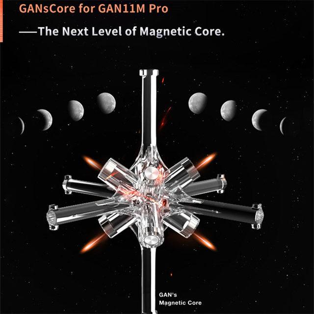 GAN 11 M Pro Magnetic 3x3x3 Magic Cube Speed GANS Cube Magnets Puzzle Cubes GAN11M Toys For Children 4