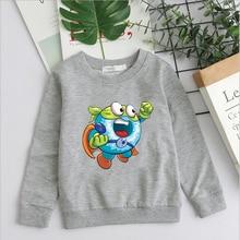 Kids Baby Girl Boy Sweatshirt Clothes