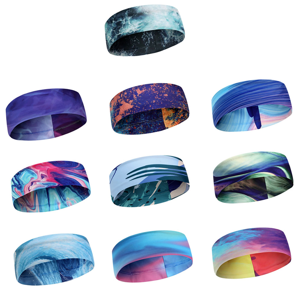 Yoga headband sport women running sport hair band turban headband women hair band Fitness Antiperspirant Band Cycling outdoors