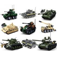 2021 novos conjuntos de tanques militares ww2 alemanha eua t34 modelo blocos de construção kits exército guerra mundial 2 1 i ii panzer veículo blindado