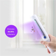 Mask UV-C Disinfection Stick Sterilization Lamp Household LED Antivirus Artifact Handheld Infant Underwear Disinfection Dtick