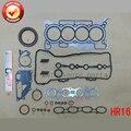 Комплект прокладок двигателя HR16DE для Nissan March/Note/Dualis/Tiida/Livina 1 6л 1598cc 2005- 50287300 A0101-EE028 10101-EE027
