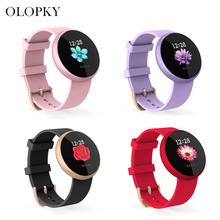 Slimy Smart Watch Women IP68 Heart Rate Monitor Message Call Reminder Pedometer Calorie Smartwatch Women Watch For Android IOS стоимость