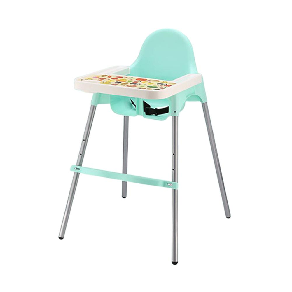 Kidlove 2-in-1 Children Multi-function Baby Dining Chair Foldable Portable Baby Chair Seat Without Cushion