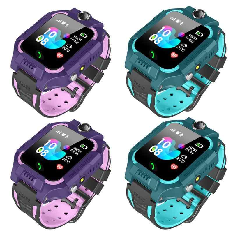 Child Smart Phone Watch Camera 1.44in Non/Waterproof Dial Call Voice Android iOS Dual Control Positioning Tracking