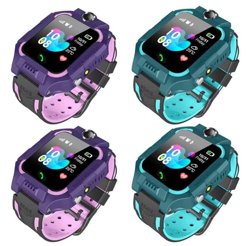 Hot Child Smart Phone Watch Camera 1.44in Non/Waterproof Dial Call Voice Android IOS Security Dual Control Positioning Tracking