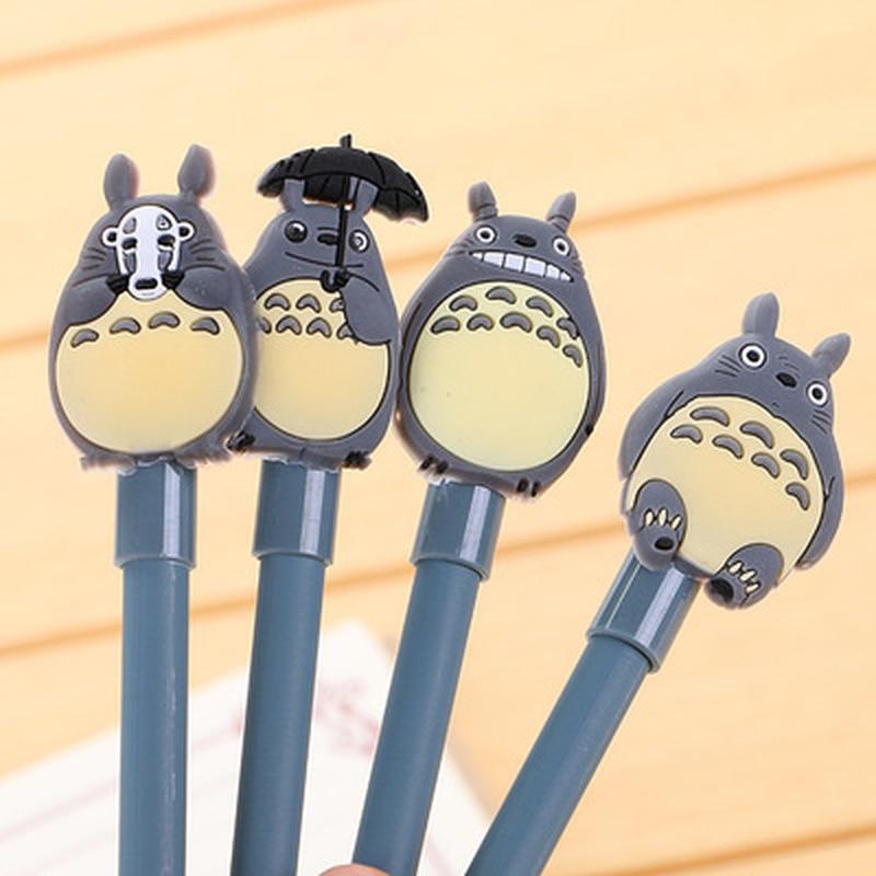 1pcs Chinchilla Gel Pen 0.5mm  Kawaii Pens Cute Student Gel Pen Novelty Stationery Cute Pens Black Writing Pen School Supplies