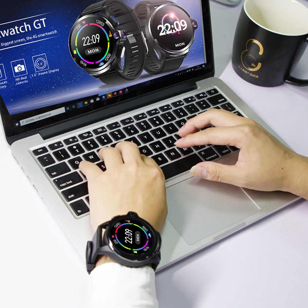 Allcall Awatch GT 4G 3GB 32GB Smart Uhr 1,6 Zoll Dual Kamera Gesicht ID IP67 Männer Sport smartwatch Telefon 1260mAh GPS Für Android