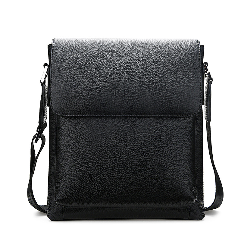 Messenger Bag Bolso Hombre Mens Business Bag Genuine Leather Briefcases Office Bags For Men Sacoche Homme Work Bag Attache Case