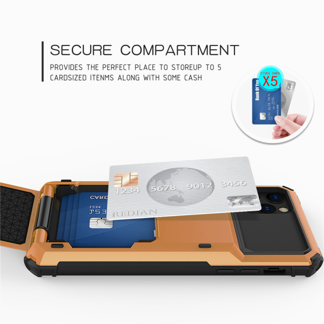 Multi Card Holder Case for iPhone 11/11 Pro/11 Pro Max 1