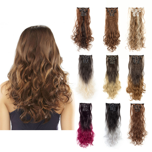 Fake Hair 24'' 6PCS Clips In H