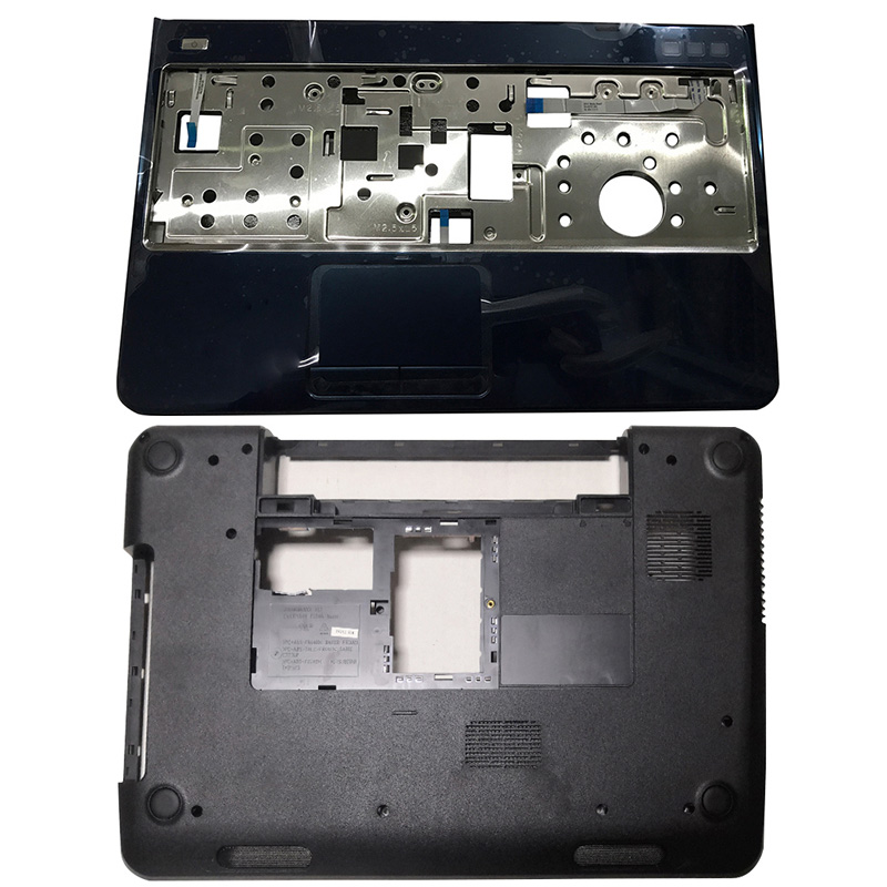 NEW Laptop Palmrest Upper <font><b>Case</b></font> Touchpad/Bottom Base For <font><b>DELL</b></font> Inspiron 15R <font><b>N5110</b></font> M5110 39D-00ZD-A00 image