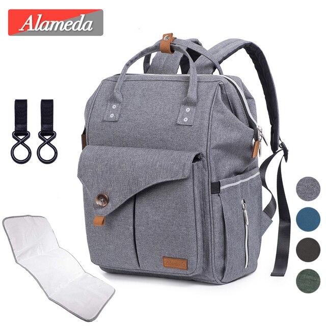 Набор сумок для подгузников для мам, модный многофункциональный дорожный рюкзак для мам, вместительные водонепроницаемые сумки для подгузников для мамы, 2020