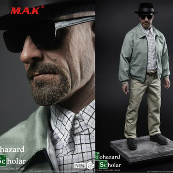 Collection CGL TOYS MS01 1/4 Statue Walter White Biohazard Scholar Figure Collection Model in stock 1