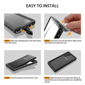 Image 5 - Snorkelling Original Waterproof Case For Samsung Note 10 Plus Case Diving Underwater Cover For Samsung Galaxy Note 10 Plus Shell