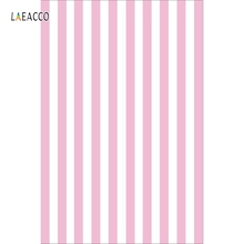 Laeacco Photography Backgrounds Pink White Black Blue Zebra Stripes Color Custom Photographic Backdrops Props For Photo Shoots