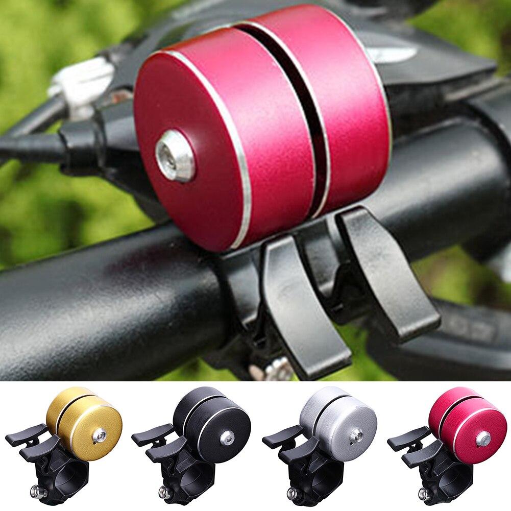 XHHX Campana de Bicicleta Campana de Alarma de Ciclismo 120 dB Ciclismo el/éctrico Campanas de Bicicleta Cuerno Impermeable MTB Manillar Bell 6 Voz