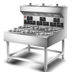 Automatyczny 10 otwór Claypot ryż inteligentny handlowych ryżowar porowate prędkości hot piec elektryczny pojedynczej warstwy dwurzędowe w Palniki elektryczne od AGD na
