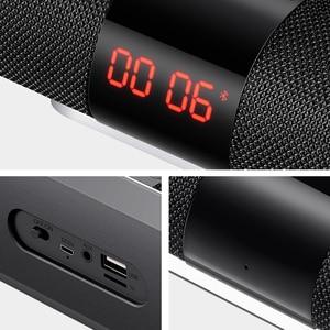 Image 5 - SANLEPUS Bluetooth חיצוני רמקול מתכת נייד סופר בס אלחוטי רמקול 3D סטריאו מוסיקה סראונד עם TFCard Aux